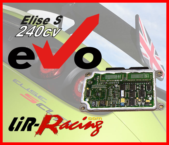 ECU Remap for Elise S 220cv