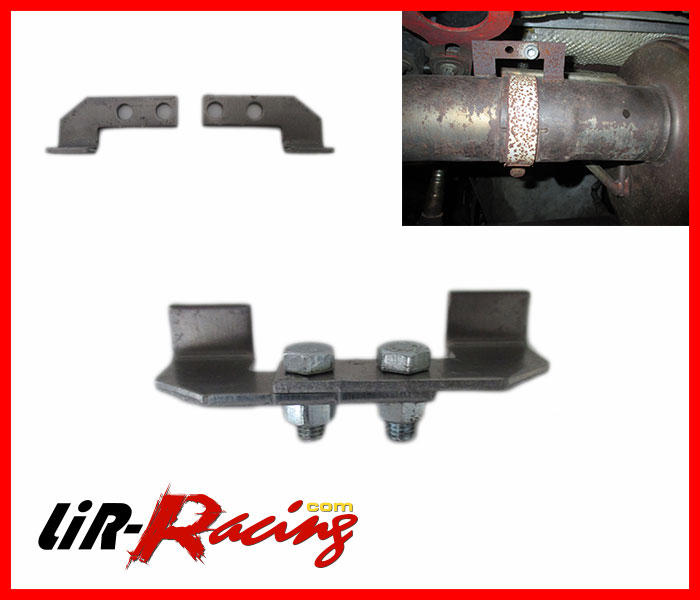 Rear silencer fixing kit