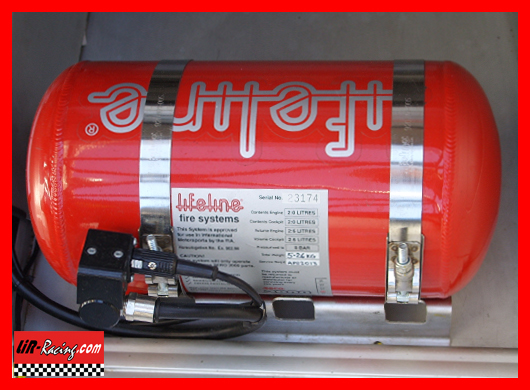 Fire extinguisher automatic 4L for Lotus and Vauxhall
