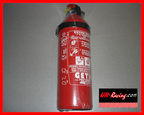 Fire extinguisher 2kg powder