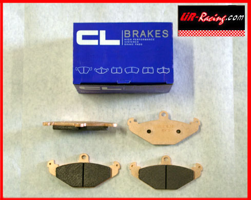 CL Brakes RC6 Pads for Elise/exige/Opel